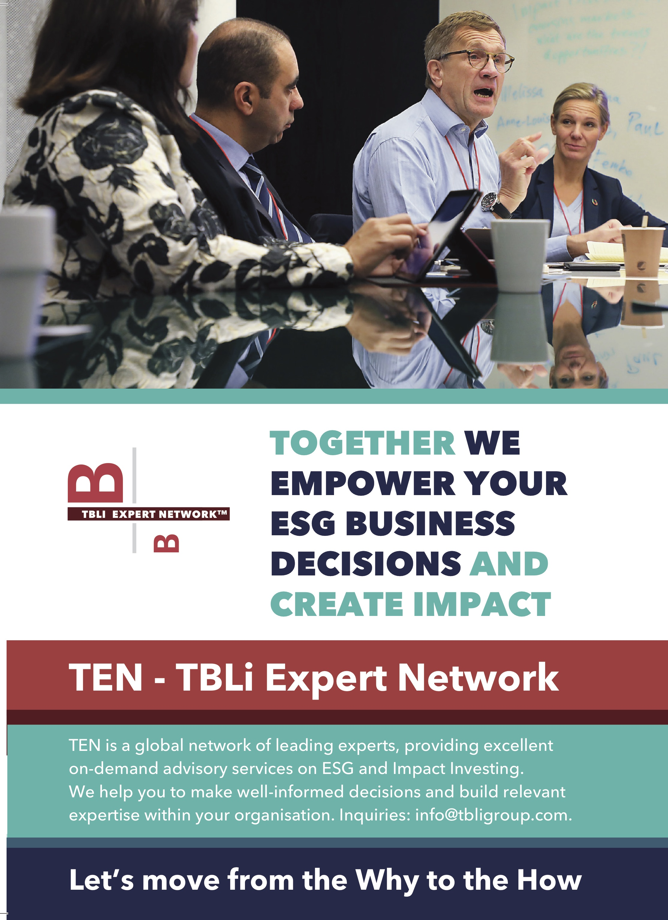 News - TBLI Group | Conferences, Events and Consulting